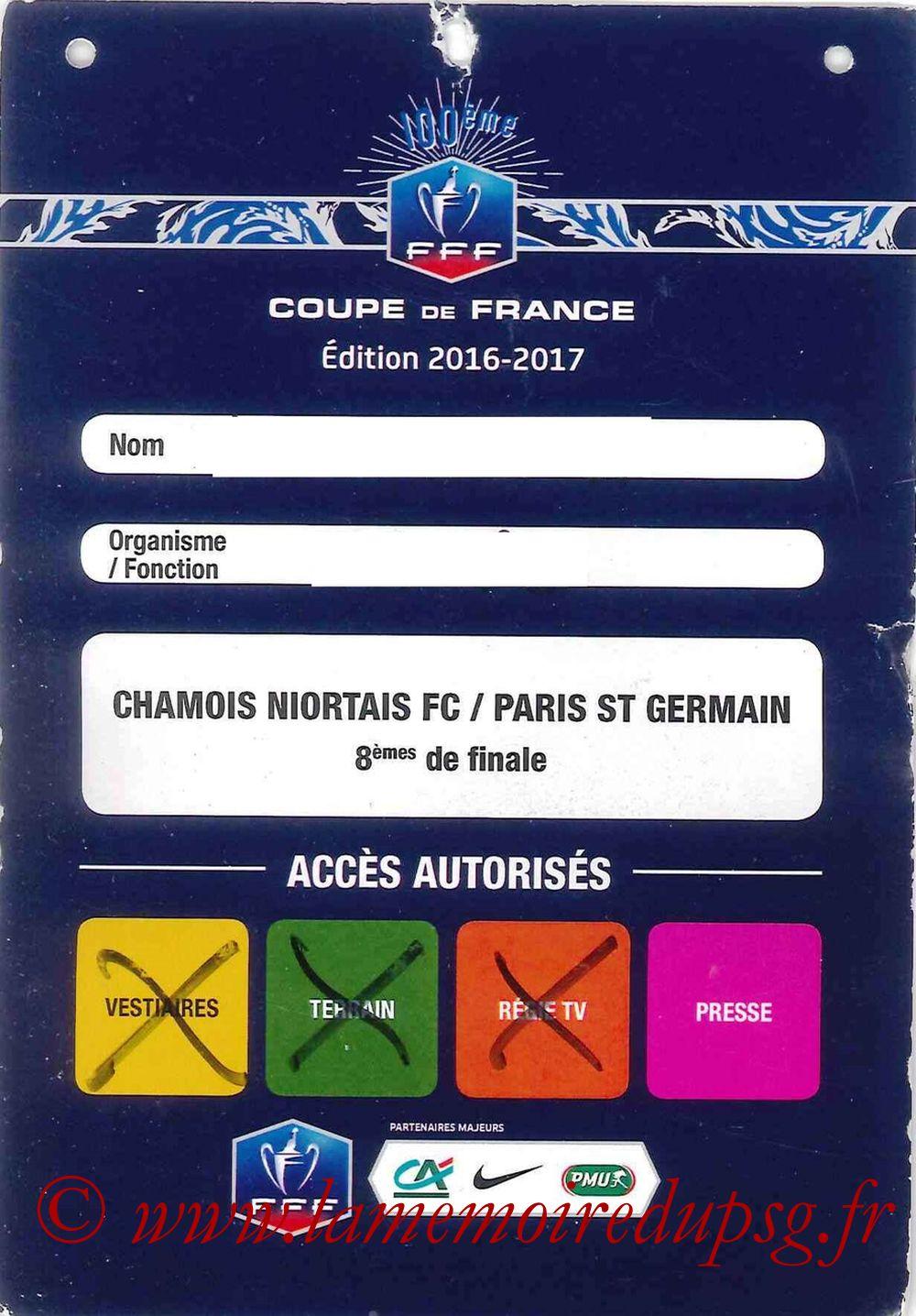 2017-03-01  Niort-PSG (8ème CF, Presse)