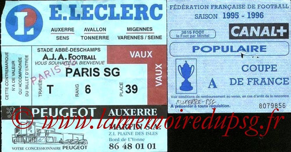 1996-02-24  Auxerre-PSG (8ème Finale CF)