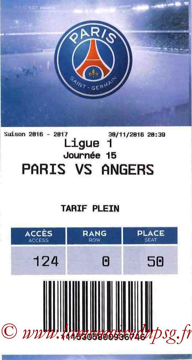 2016-11-30  PSG-Angers (15ème L1, E-ticket)