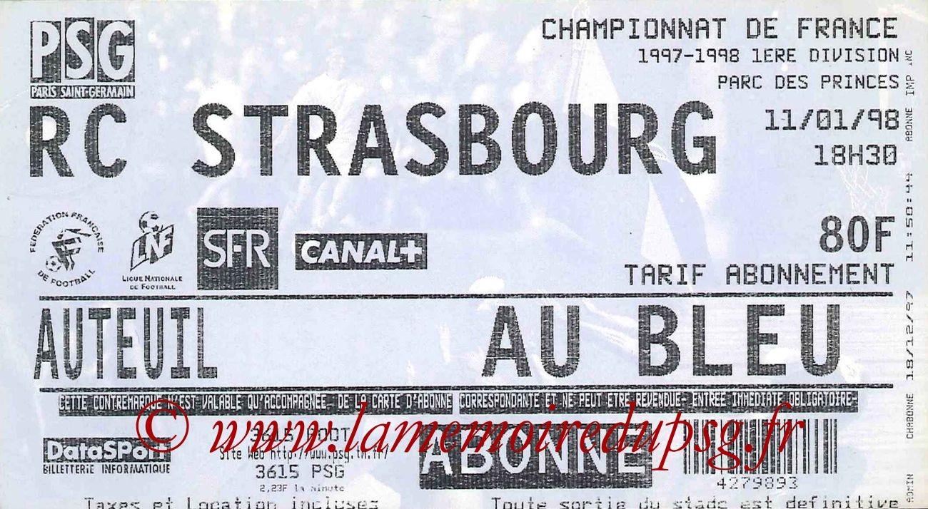 1998-01-11  PSG-Strasbourg (22ème D1)