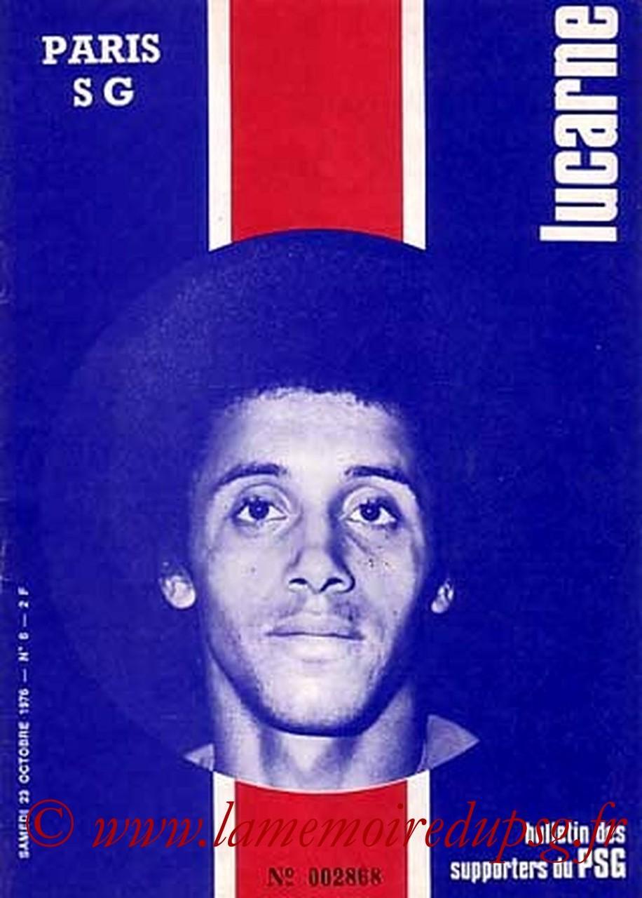 1976-10-23  PSG-Bordeaux (11ème D1, Lucarne N°6)