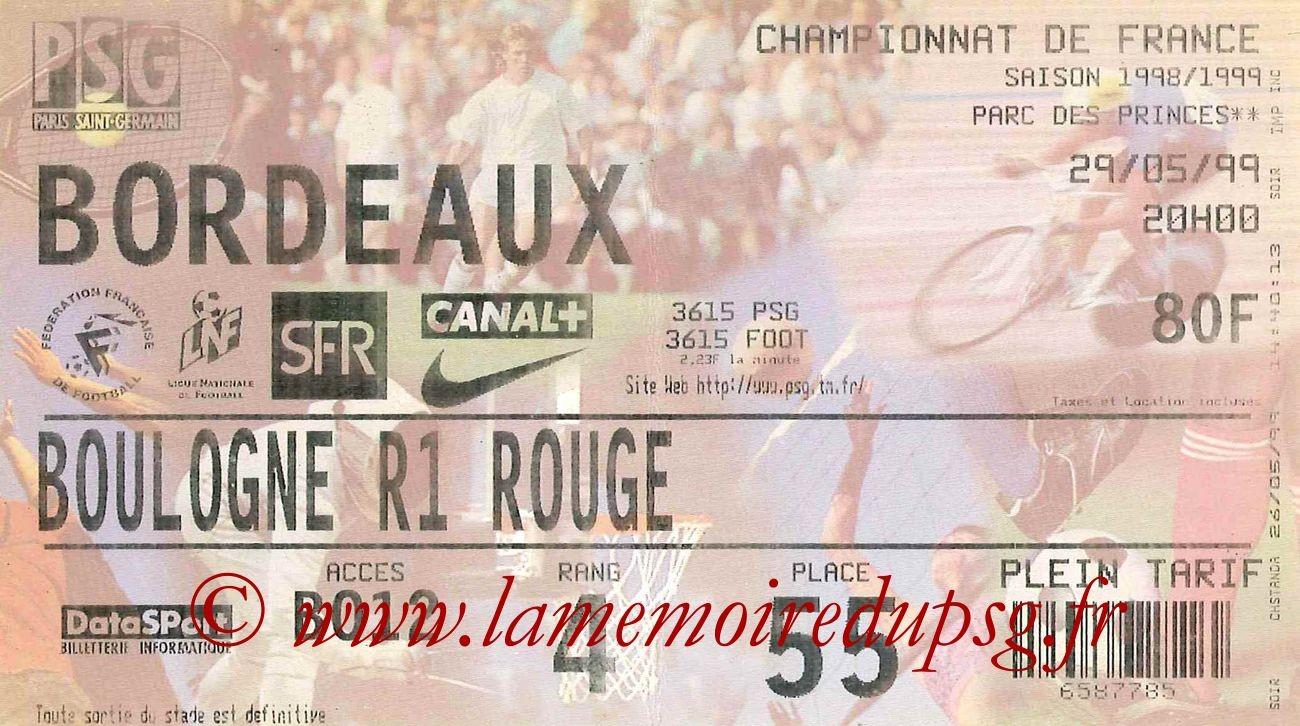 1999-05-29  PSG-Bordeaux (34ème D1)