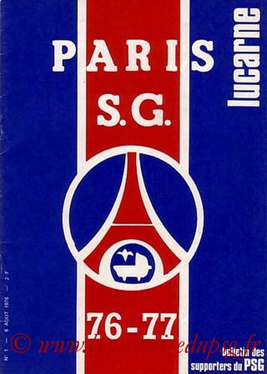 1976-08-06  PSG-Lyon (1ère D1, Lucarne N°1)
