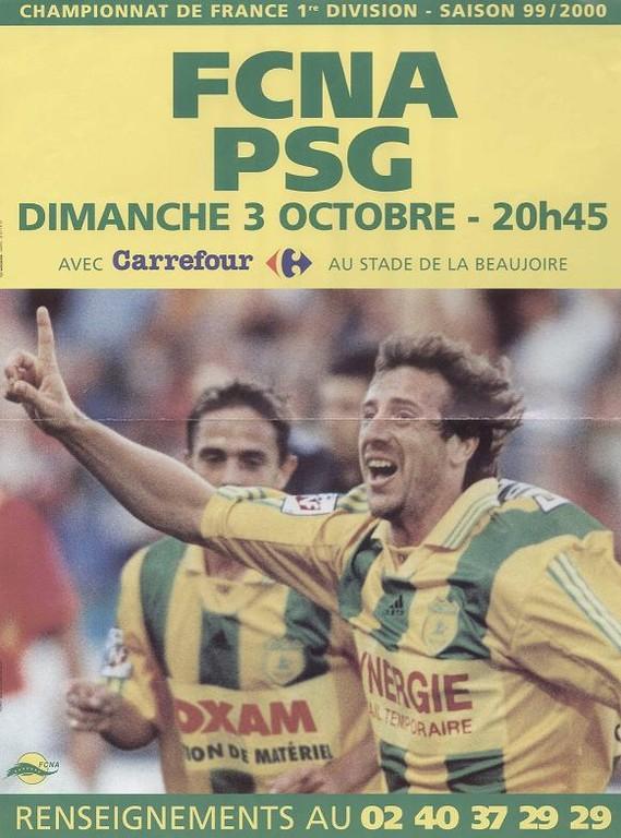 1999-10-03  Nantes-PSG (Affiche)