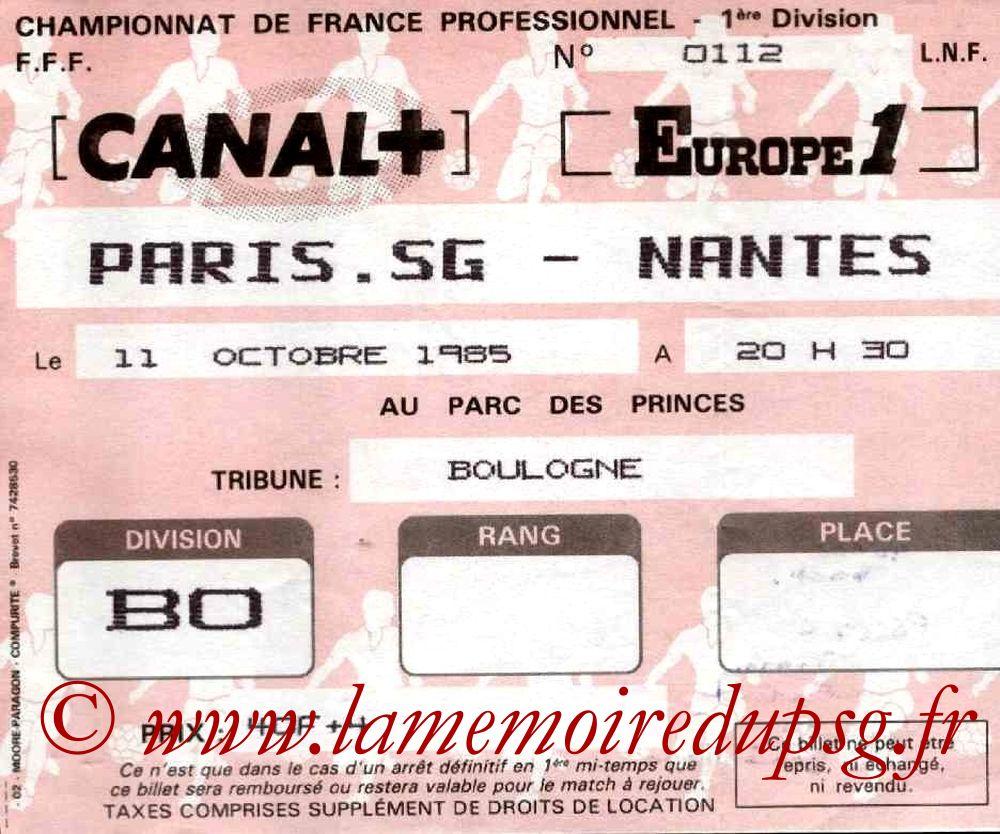 1985-10-11  PSG-Nantes (15ème D1)