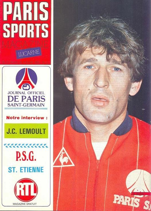 1983-01-22  PSG-Saint Etienne (22ème D1, Paris Sports Magazine N°9)