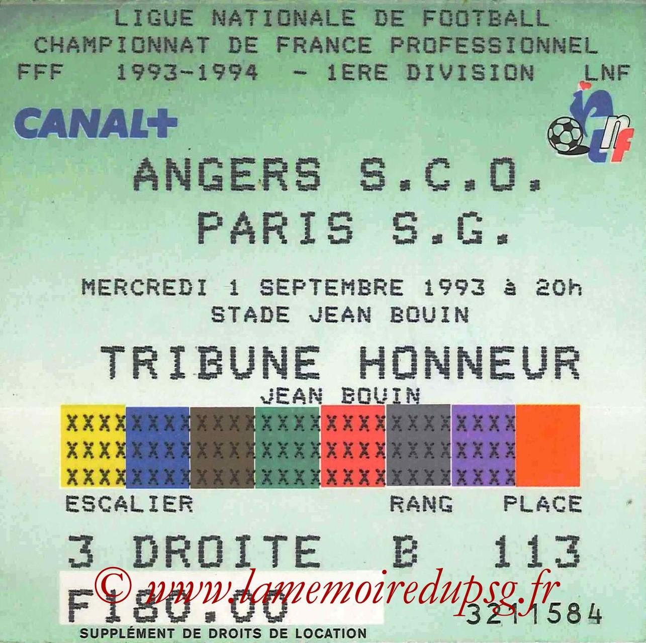 1993-09-01  Angers-PSG (7ème D1)