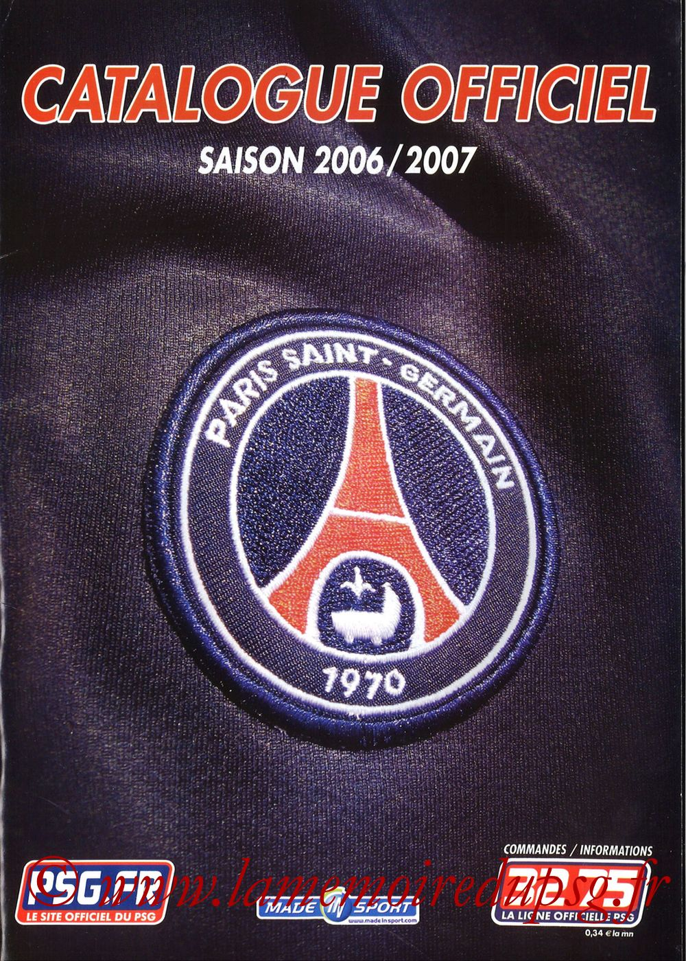 Catalogue PSG - 2006-07b