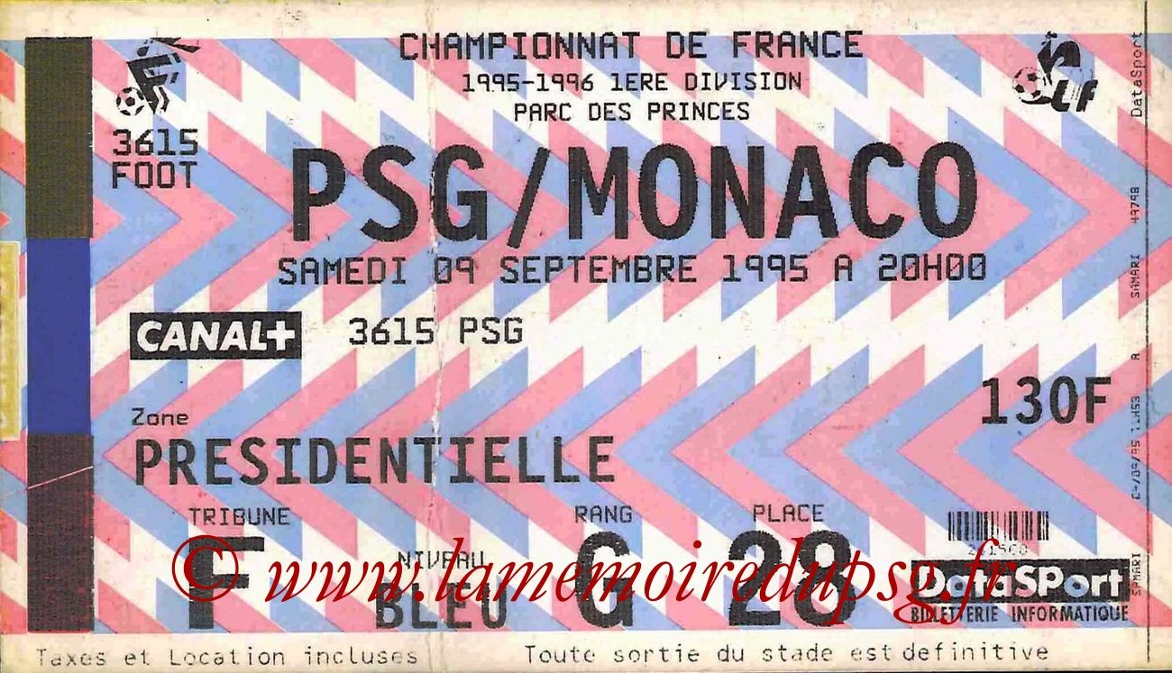 1995-09-09  PSG-Monaco (8ème D1)bis
