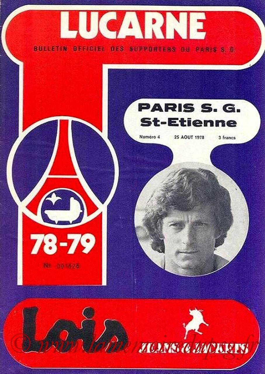 1978-08-25  PSG-Saint Etienne (8ème D1, Lucarne N°4)