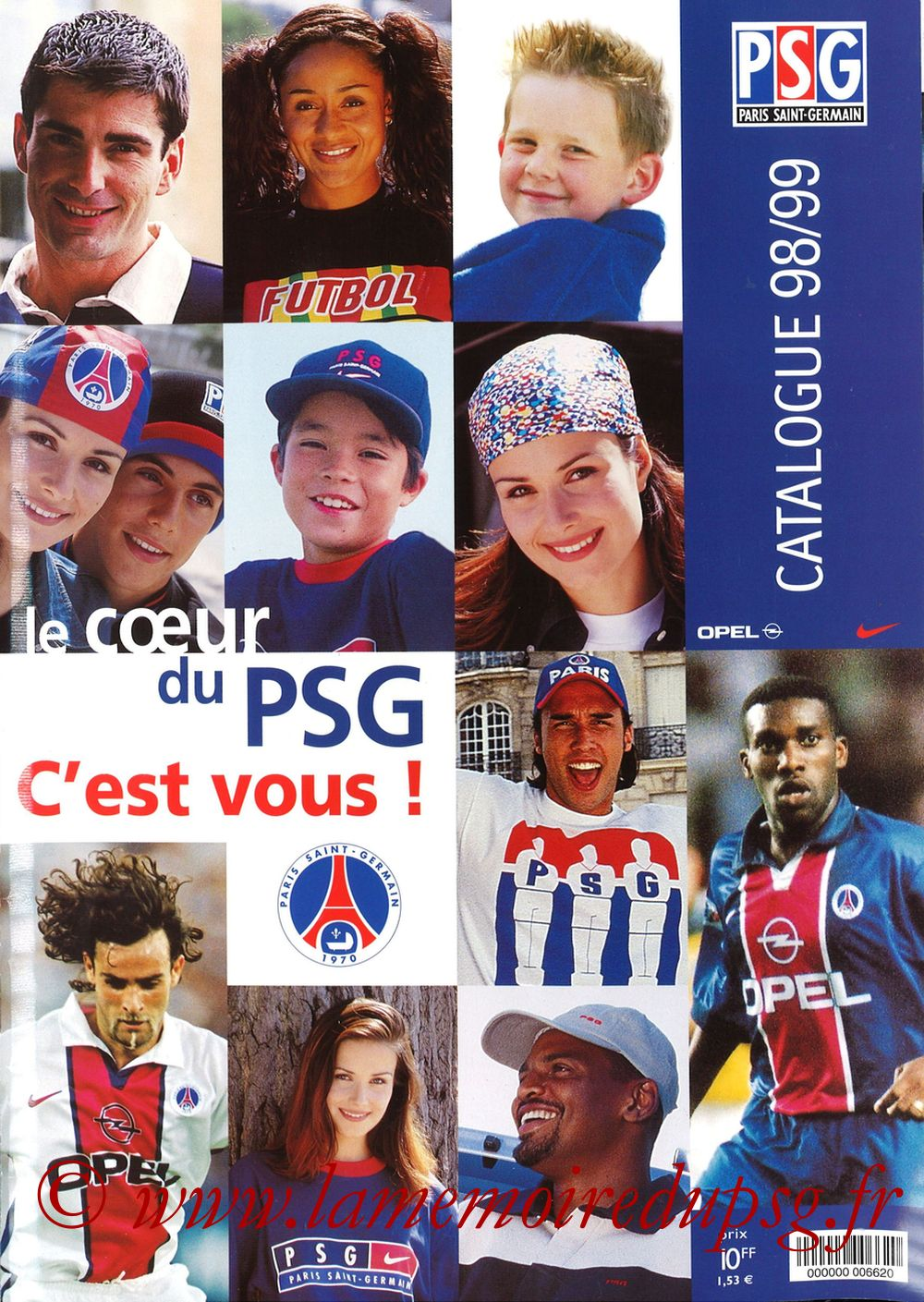 Catalogue PSG - 1998-99