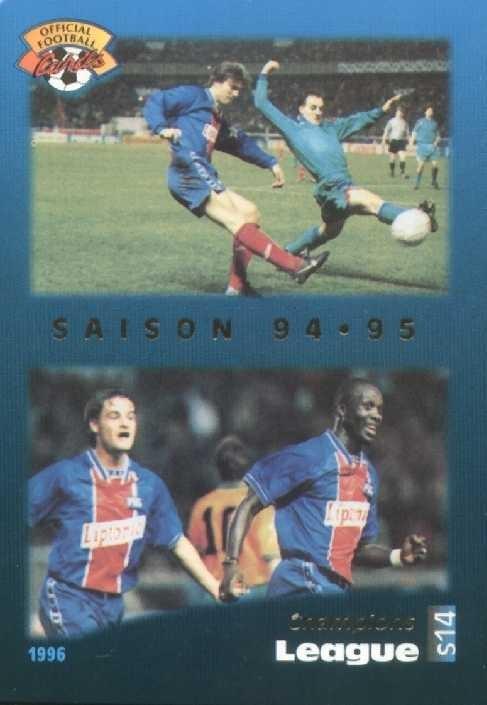N° S14 - Bilan Saison 94-95 (Recto)