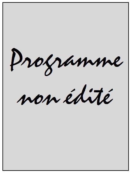 2007-11-16  PSG-Guinée (Amical à huis-clos au Parc des Princes, Programme non édité)