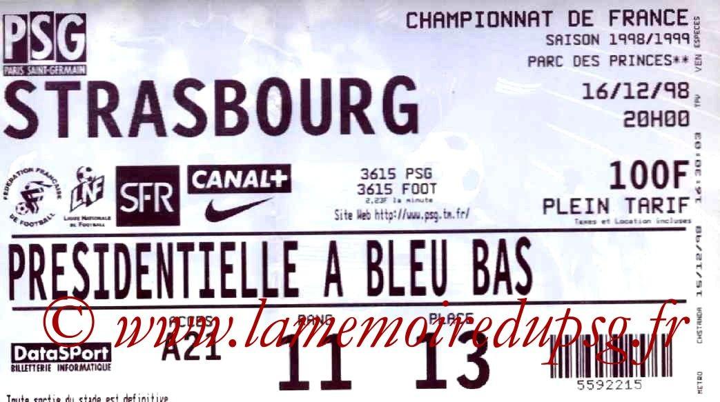 1998-12-16  PSG-Strasbourg (19ème D1)