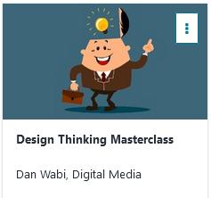 Design Thinking Kurs Udemy