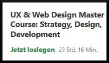 Udemy-Kurs über UX-Design Grundlagen