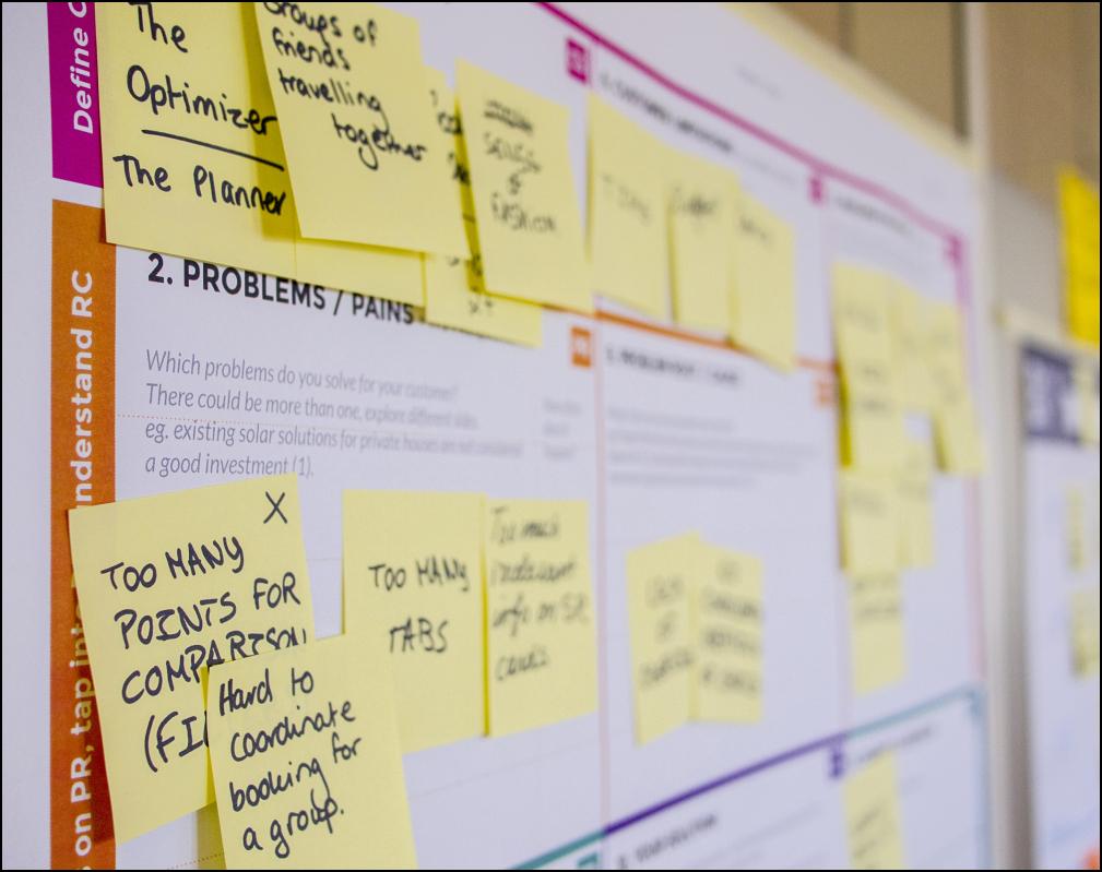 Einen Überblick über Design Thinking bekommen