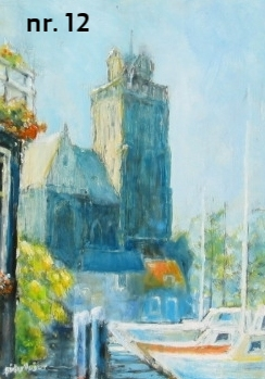nr. 12 Grote Kerk in de zomer