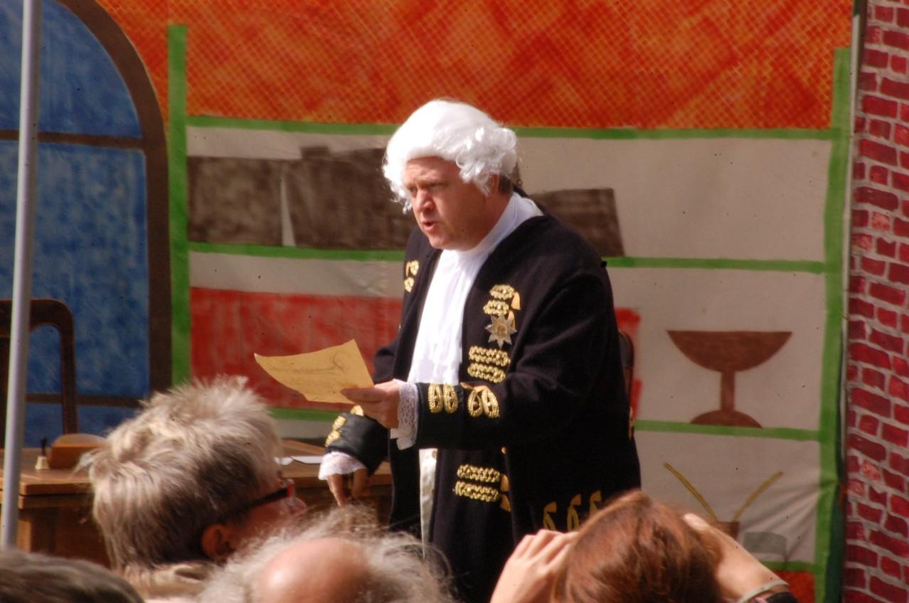 Sven Hampel als Wilhelm der I.