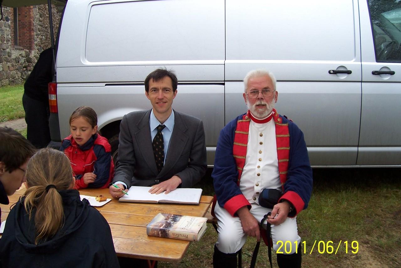 Philip Kiril Prinz von Preußen 2011 schreibt in unser Gästebuch