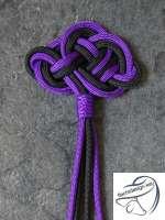 Keltischer Knoten aus Paracord