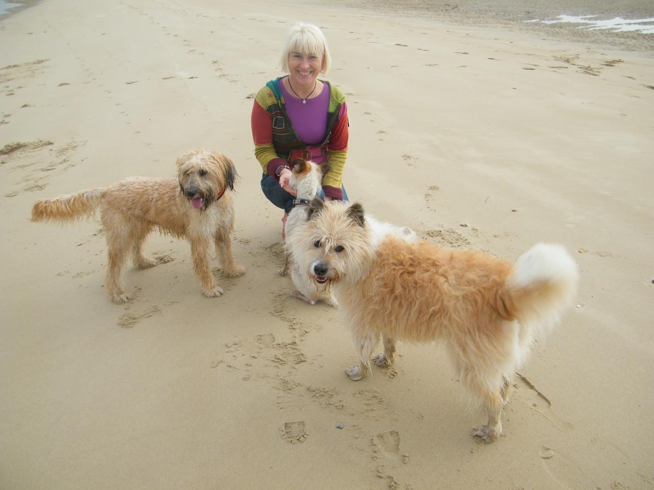 Mila und ihre Freunde in der Normandie :-)