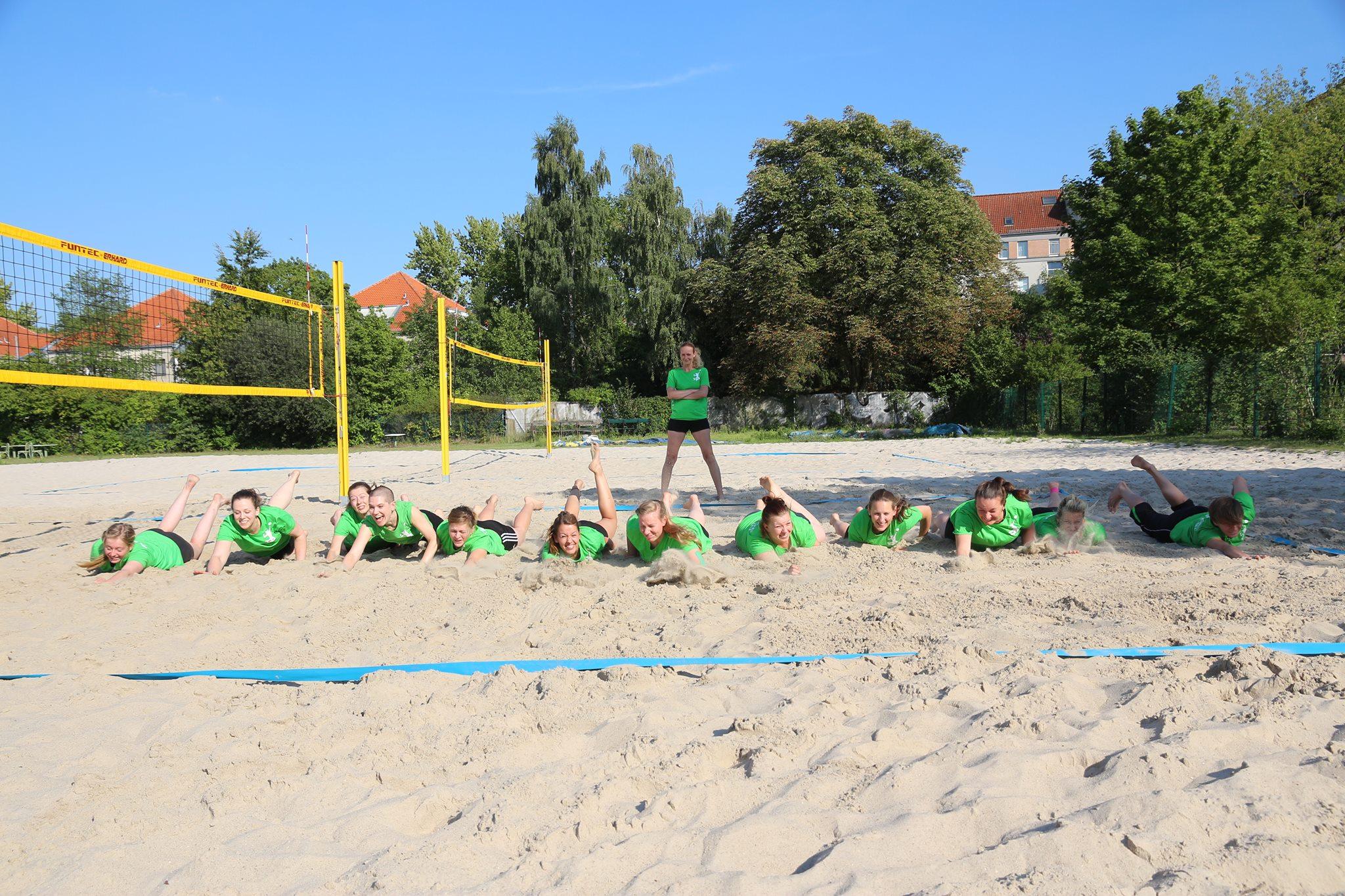 Bootcamp Beachgelände 2016