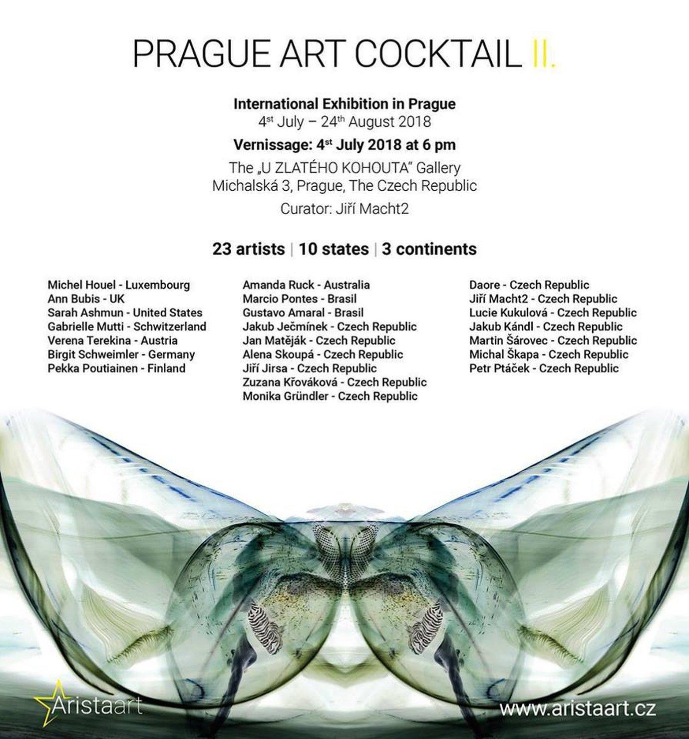 Art Cocktail 2 ed. - 2018, Prague, Czech Republic
