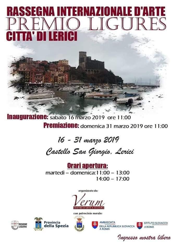 Rassegna Internazionale d'Arte Citta' di Lerici -  Lerici, 2019, Italy