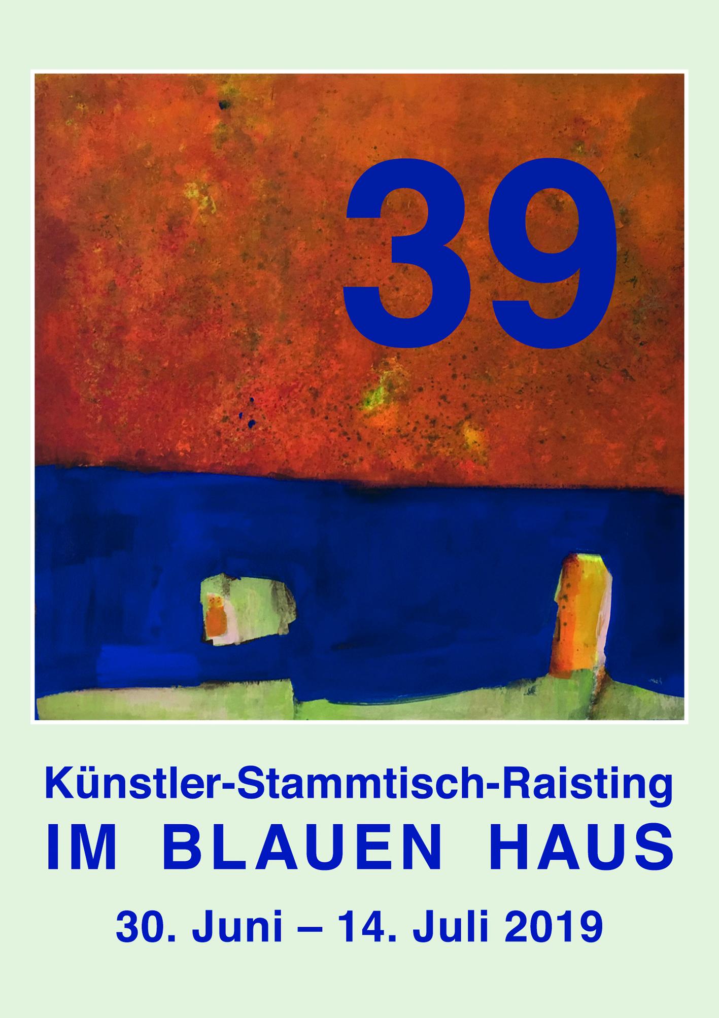 39 Im Blauen Haus - 2019, Dießen, Germany