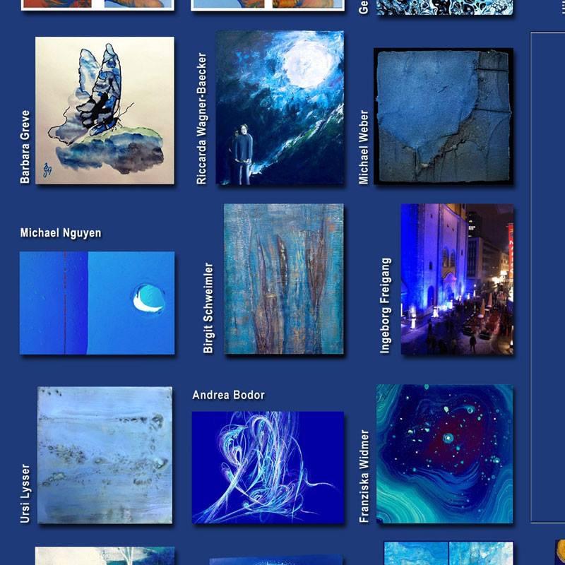 Blaue Kunst Gegen Dumpfen Sumpf