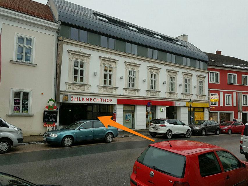 Zugang Pragerstr.