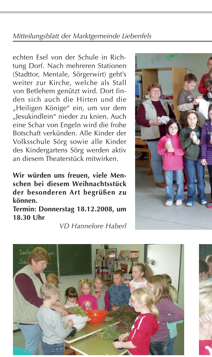 Liebenfelser Dezember 2008