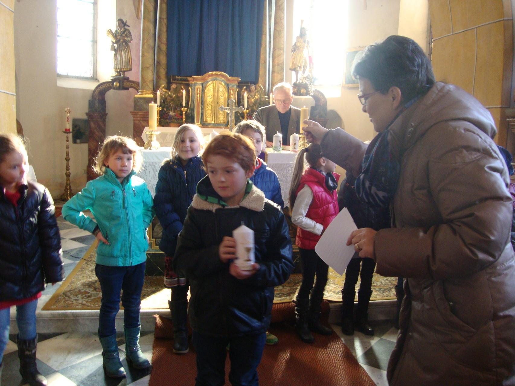 Vorbereitungsmesse Erstkommunion
