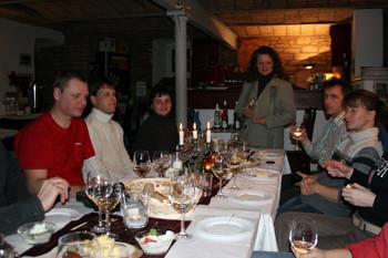Weinprobe quer durch die nahe Region