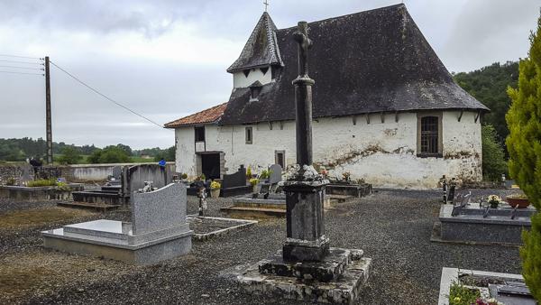 La chapelle d'Olhaïby