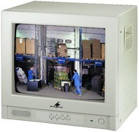CMD-1403COL  Farbmonitor  im Metallgehäuse