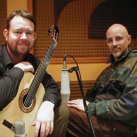 Grabando con Christopher Dorsey. Estudio Corcovado.