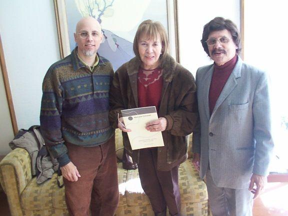 Con Suma Paz y Ramón Ayala. Rosario.