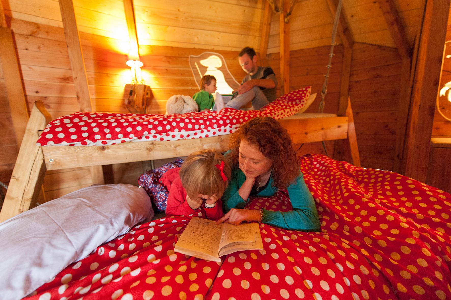 Profiter vos vacances dans une cabane familiale 4/5 personnes dans les arbres