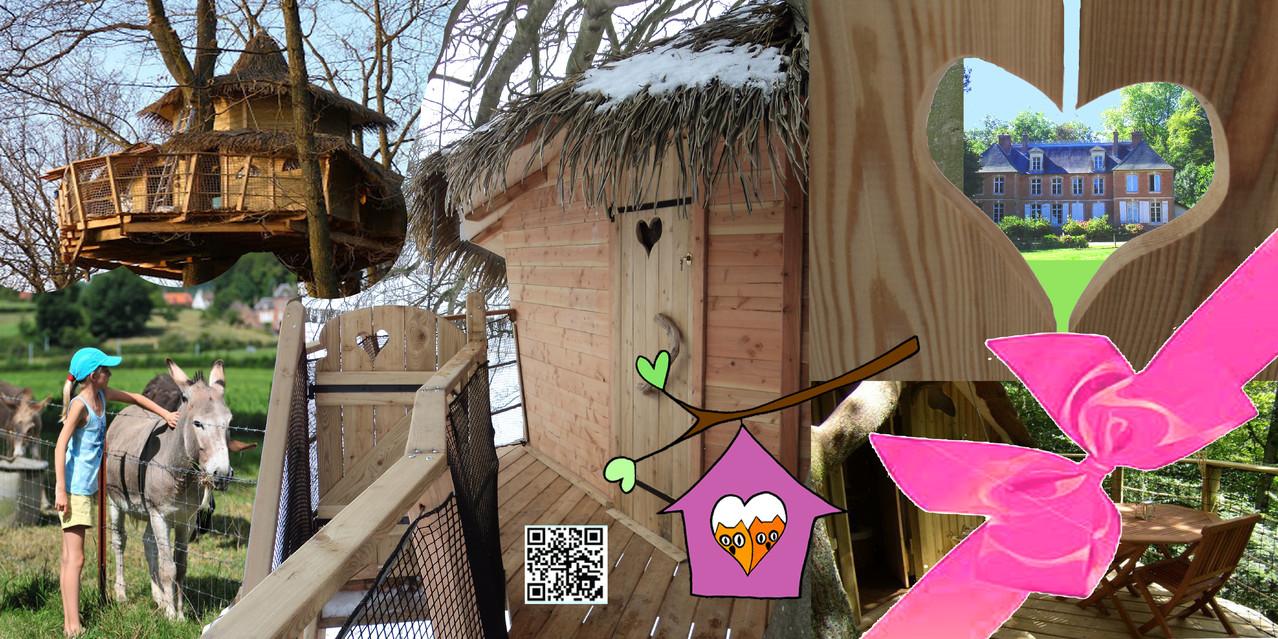 cadeau s jour insolite en baie de somme location insolites bulle cabanes dans les arbres. Black Bedroom Furniture Sets. Home Design Ideas