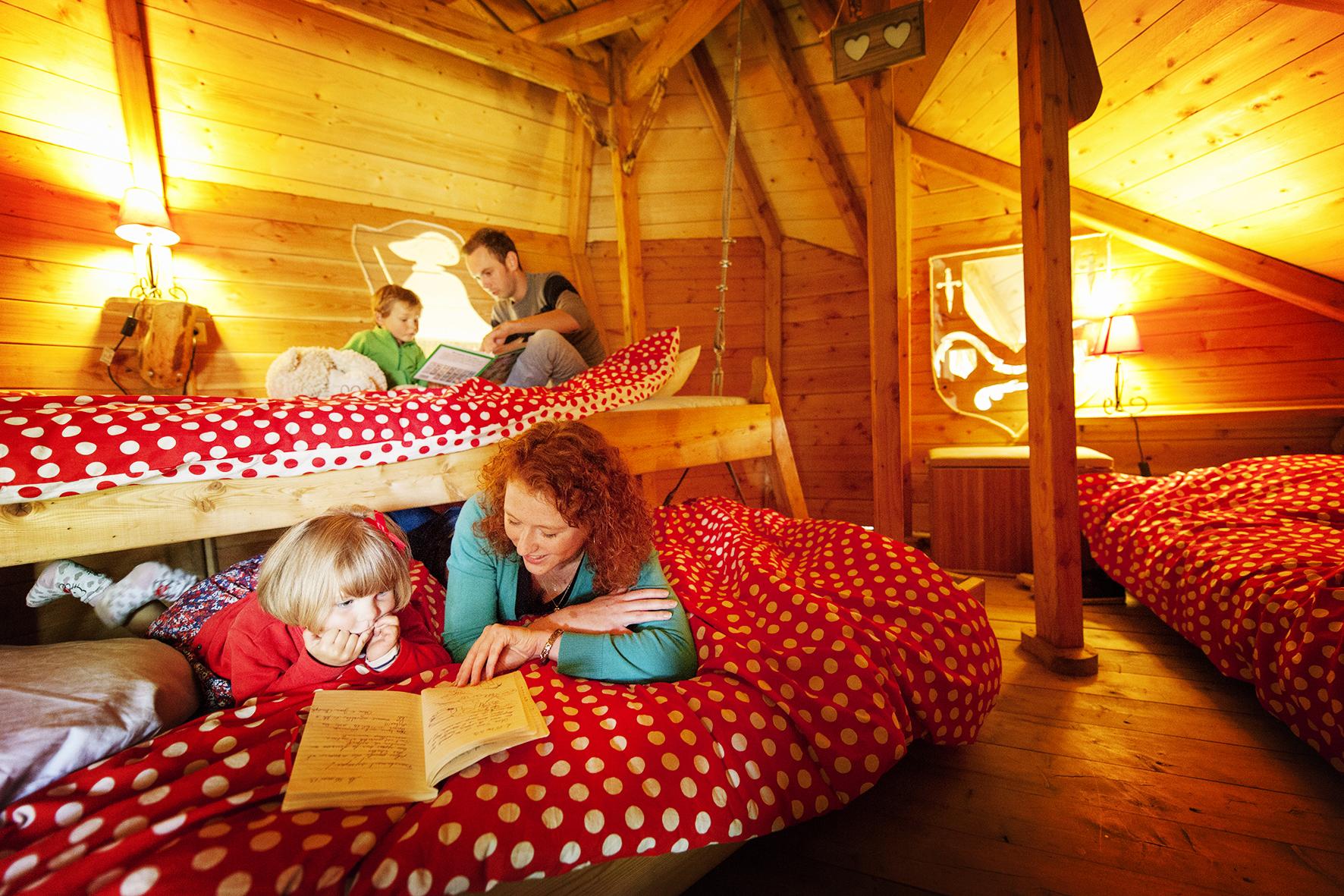 Louer un séjour insolite dans la cabane familiale 5 personnes