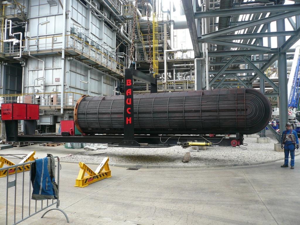 Aerial Tube Bundel Extractor for Heat Exchanger