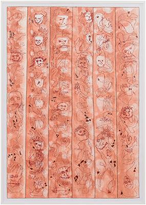 Nr. 54 Gesichter nähen; verkauft