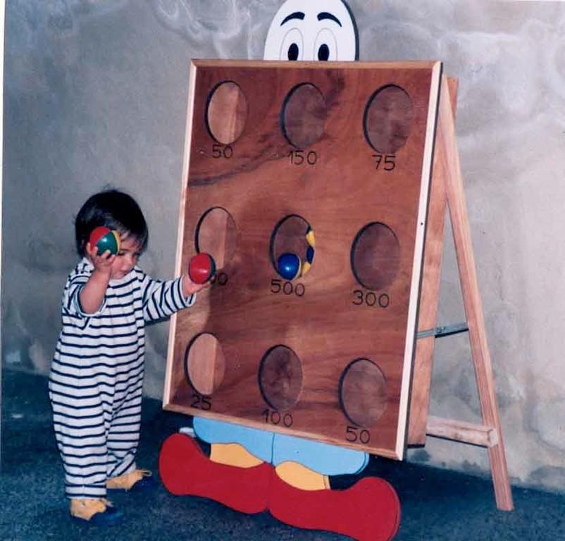 Clown Lance-boule