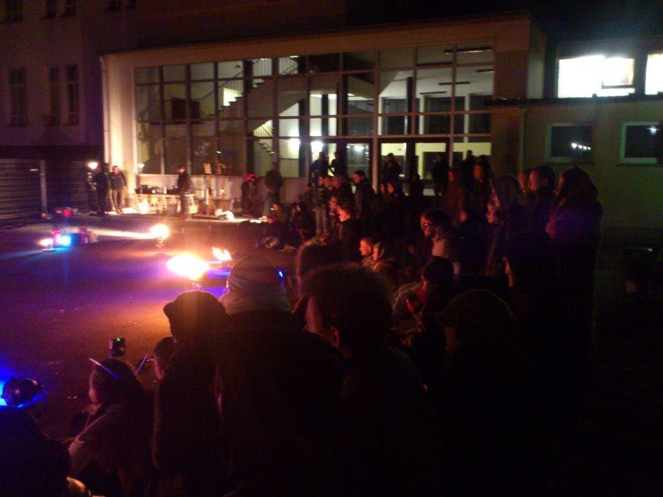 Feuer open Stage jeder der sich traut darf Auftreten