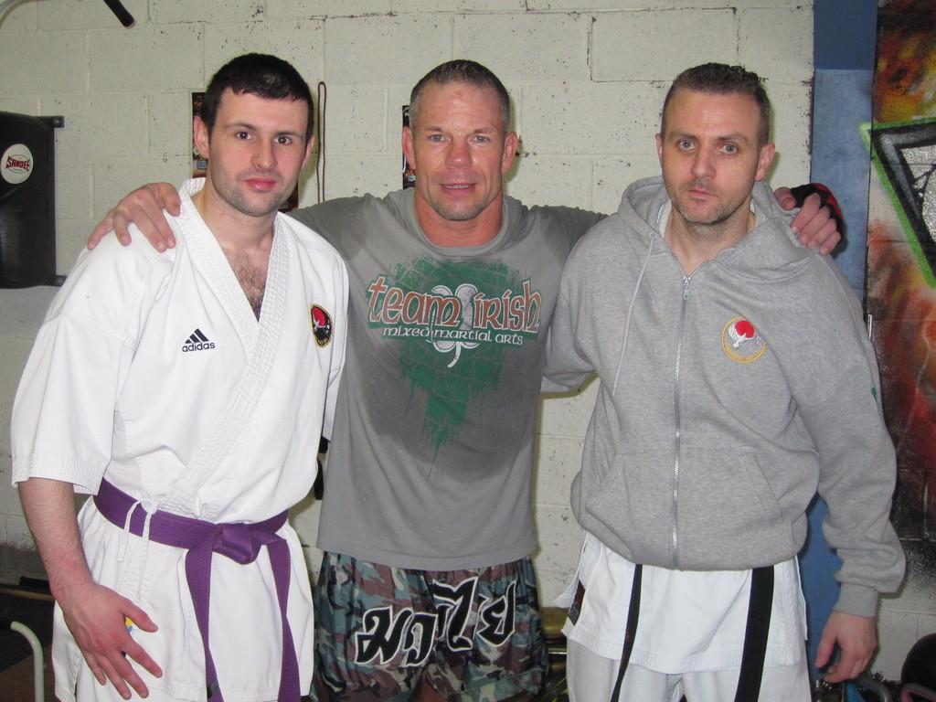 MARCUS DAVIS(UFC) K 1 SEMINAR 2012