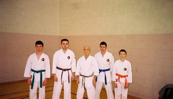 TATSUO SUZUKI Wado Ryu 8th Dan Japan 2002