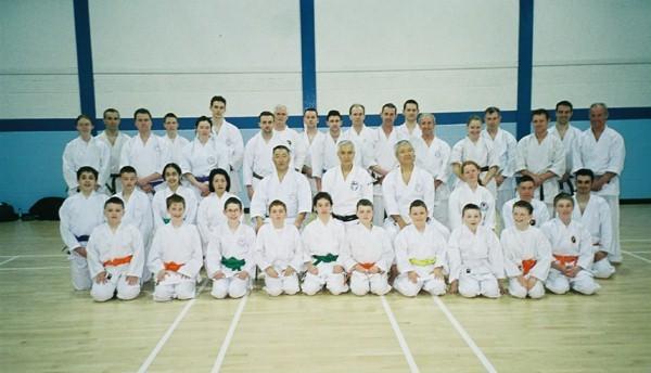 2nd GRANDMASTER OF WADO RYU (GIRO)HIRRIONO OHTSUKA II, Y.IWASAKI & M.SHIOMITSU WADO RYU 2004