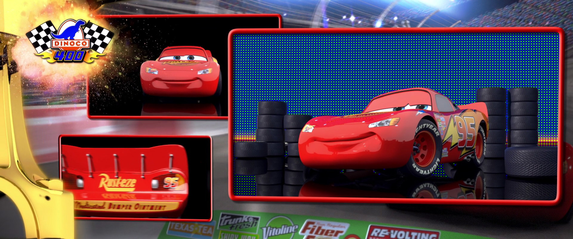 Disney CARS 1 - Lightning McQueen - Bed and Breakfast Amsterdam West